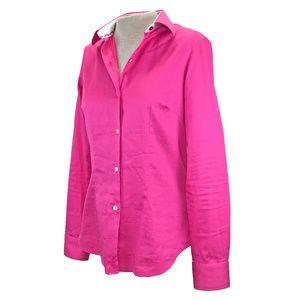 Robert Graham Bright Pink Button Down Shirt M